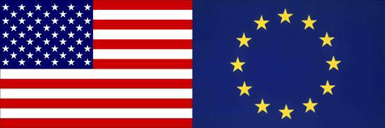 USA - EUR Flags