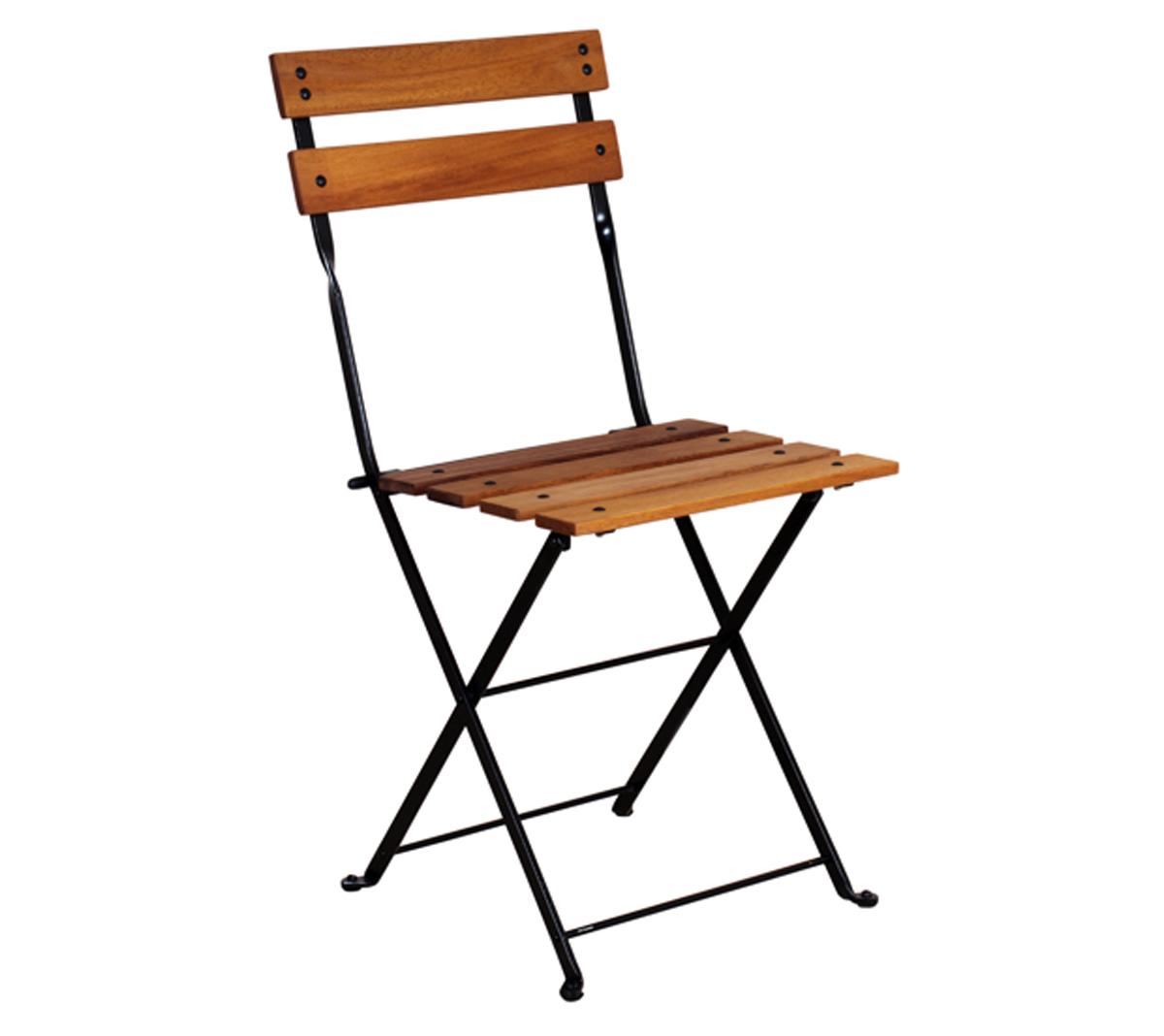 5502T-BK African Teak Side Chair