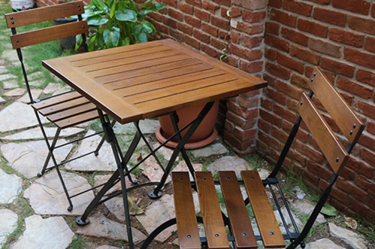 Madeleine 5502CW-BK Chairs - 4122CW -BK Table