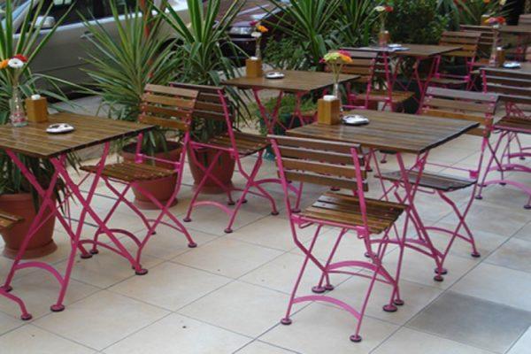 Veronique Chair - Papillion Pink