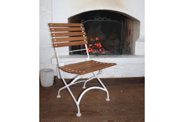 Isabelle Chair with White Frame
