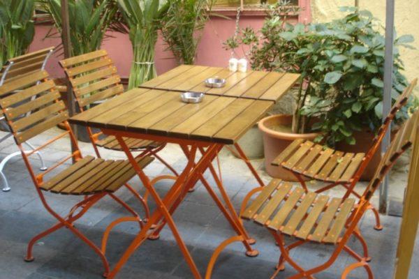 Isabelle Chair with Orange Frame Ekvator