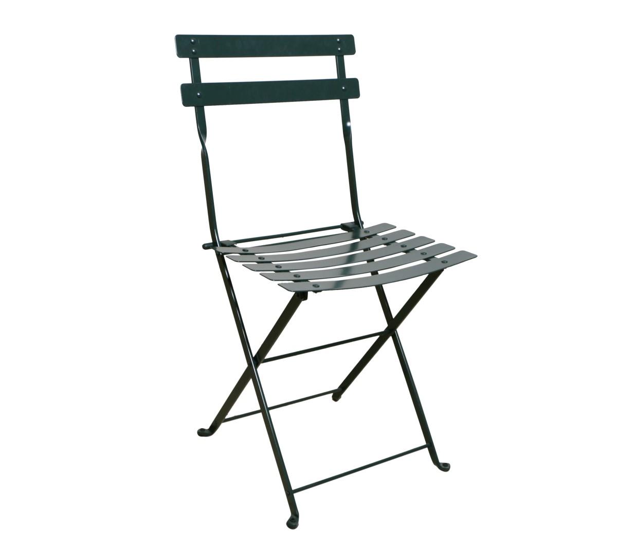Paris Cafe Chair 5517S-GR - Black Green