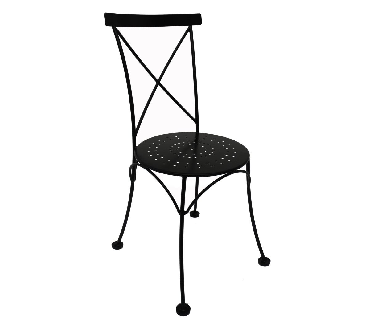X Back Chair - Black