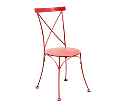 X Back Chair - Red