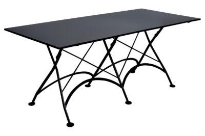 4116S-BK Metal Table 32 x 72