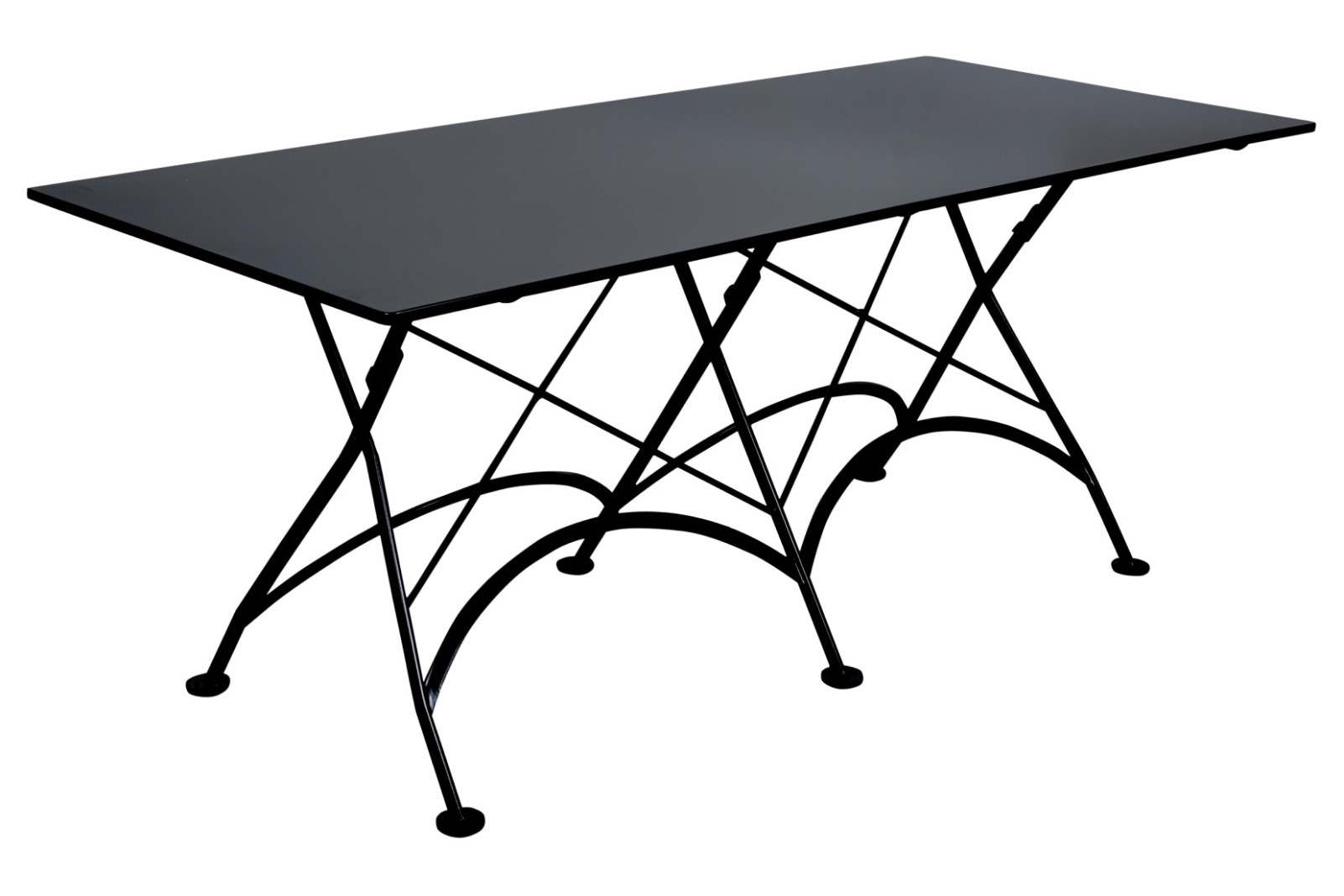 4116S-BK Metal Table 32 x 72