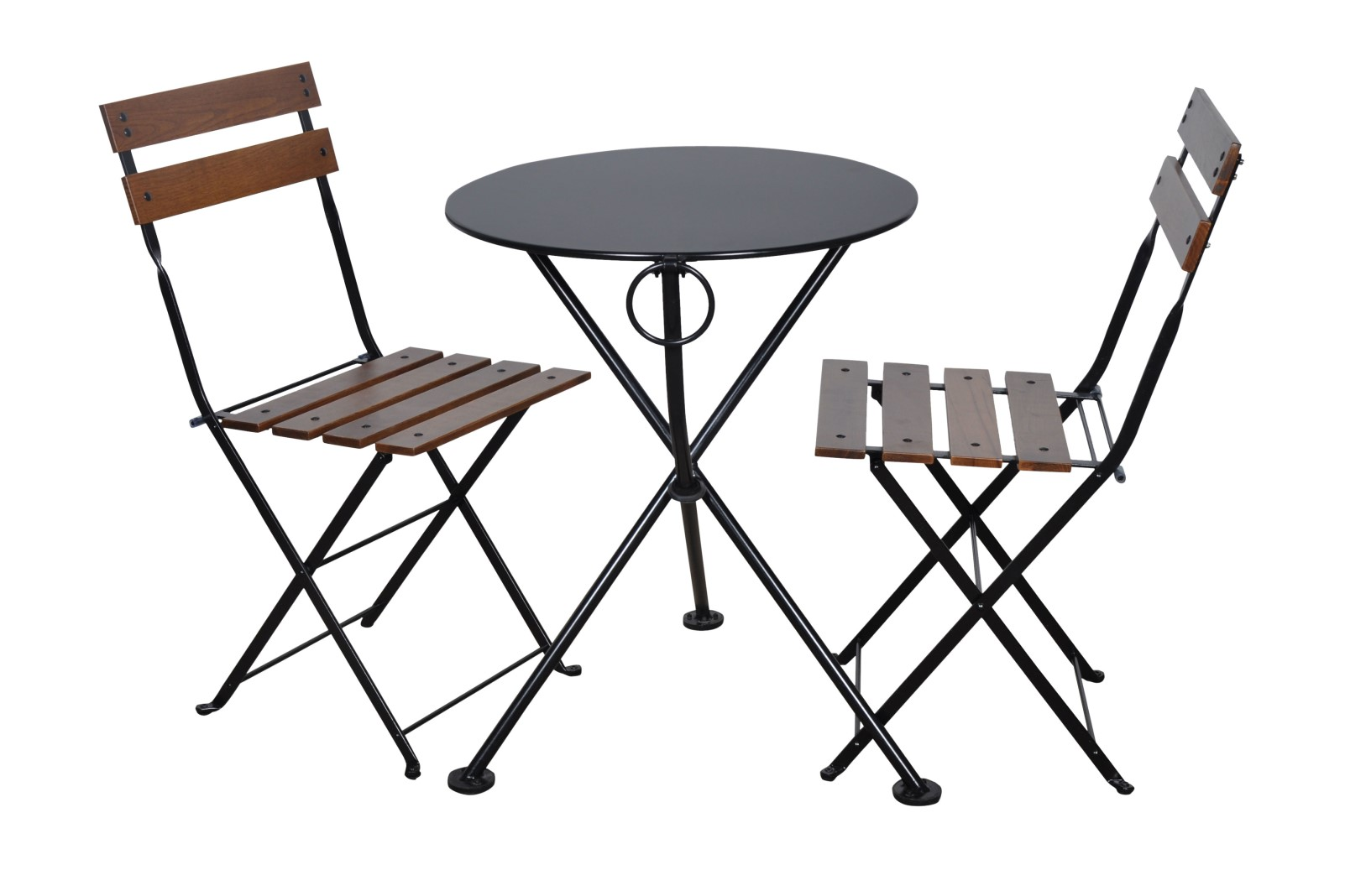 4139S-BK Table and 5502CW-BK chairs