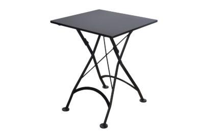 4122S-BK Metal Table 24 x 24