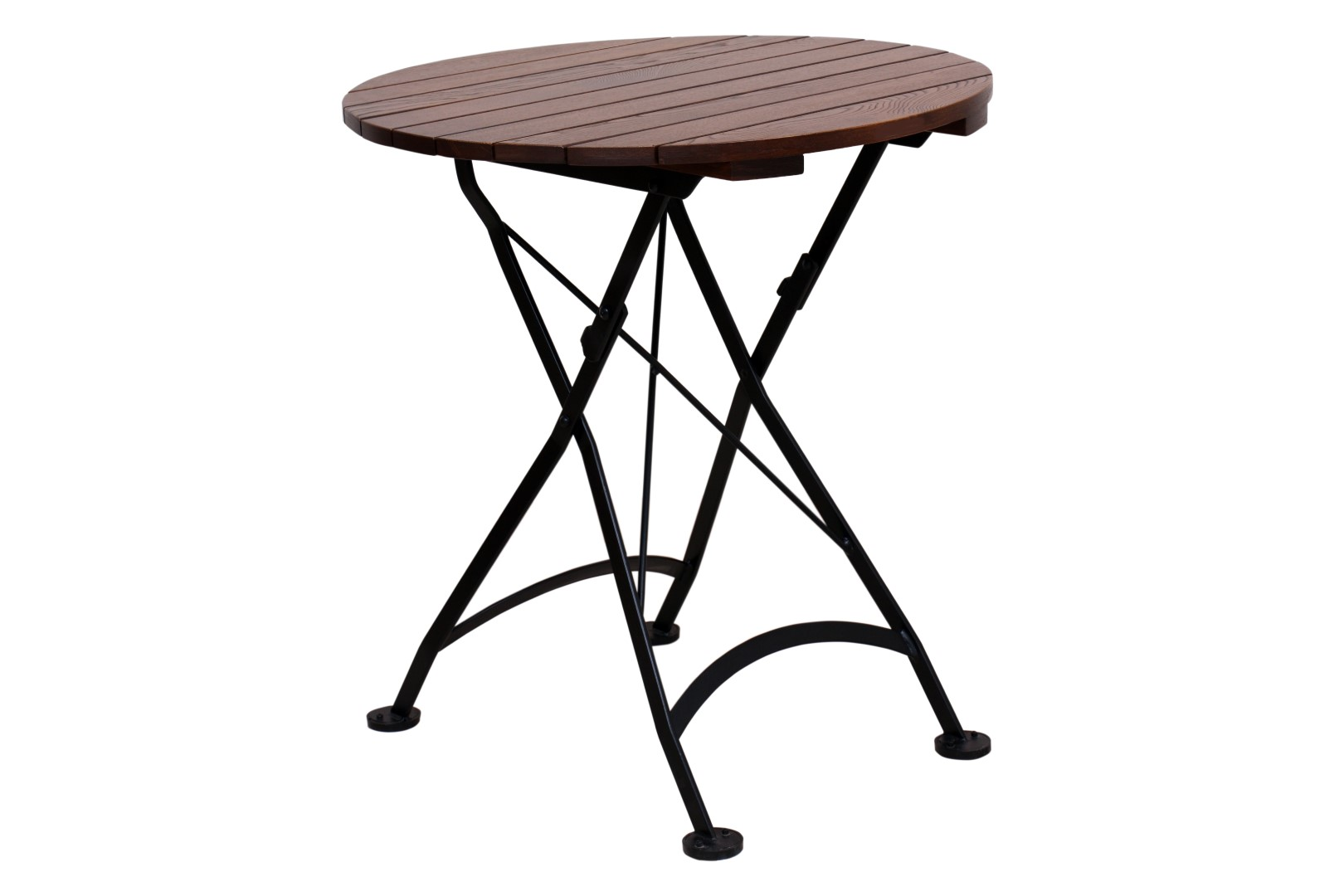 Round Top Chestnut Tables Outdoor Folding Page