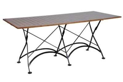 4116CW-BK European Chestnut dining table