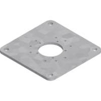 M4-M8 Mounting Plate