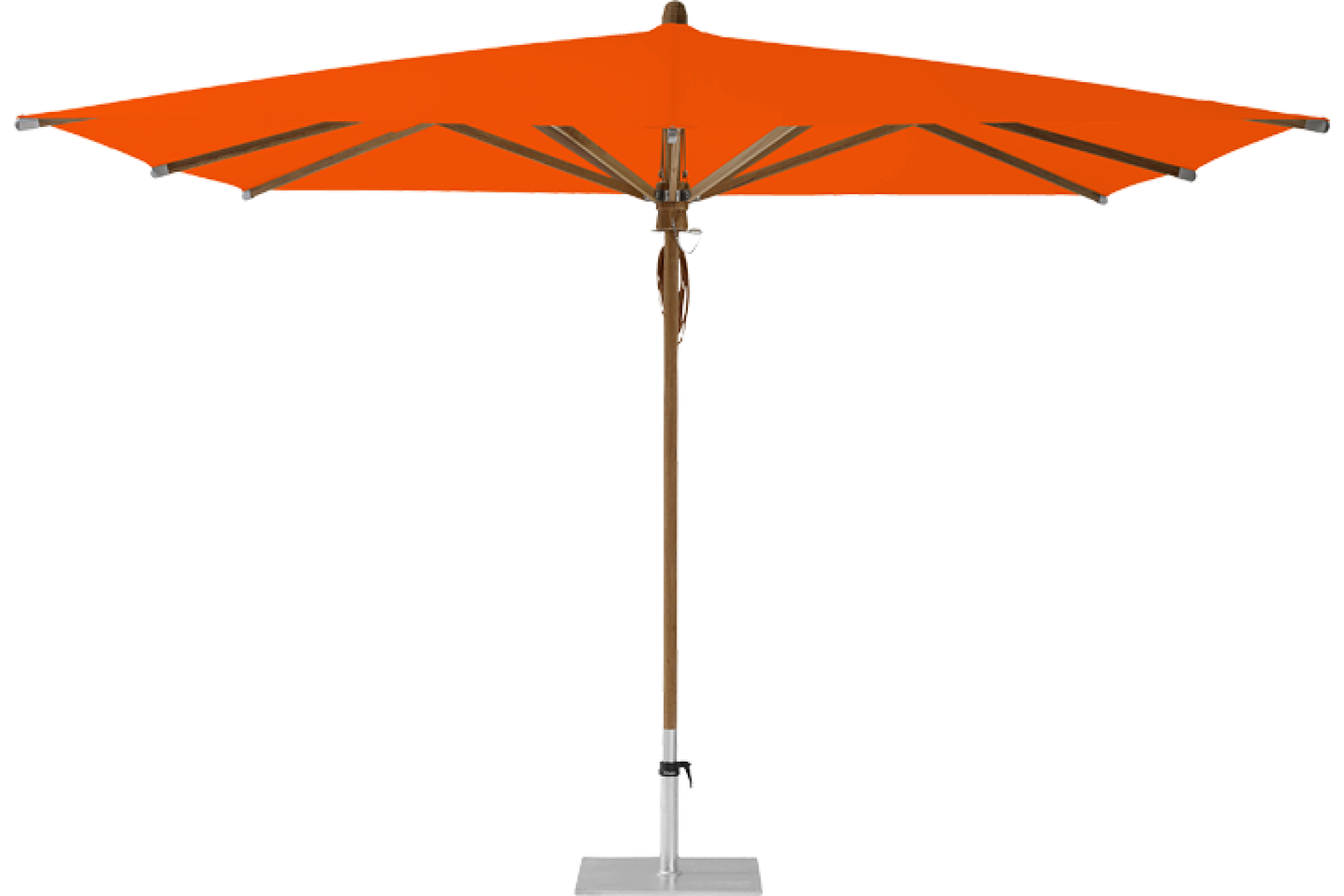 Teakwood Market Umbrella